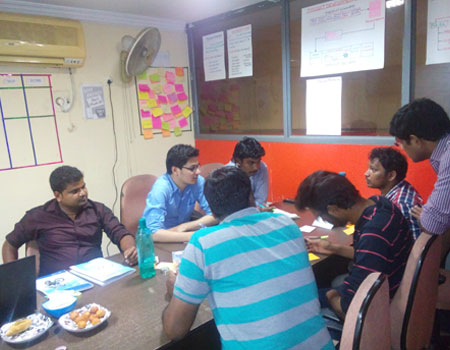 real-time agile scrum training in hyderabad and Placement Assistance